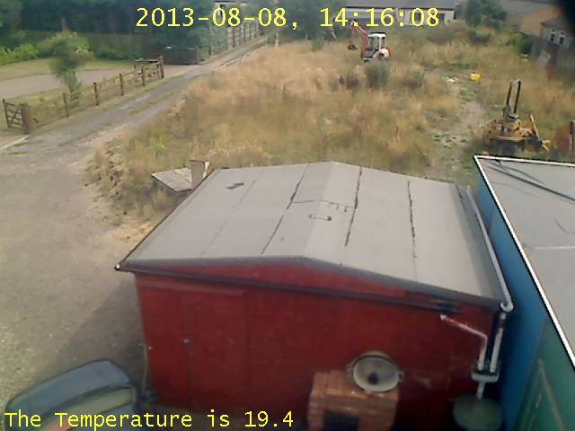 still picture from Roselea webcam