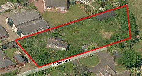 Aerial view of Roselea