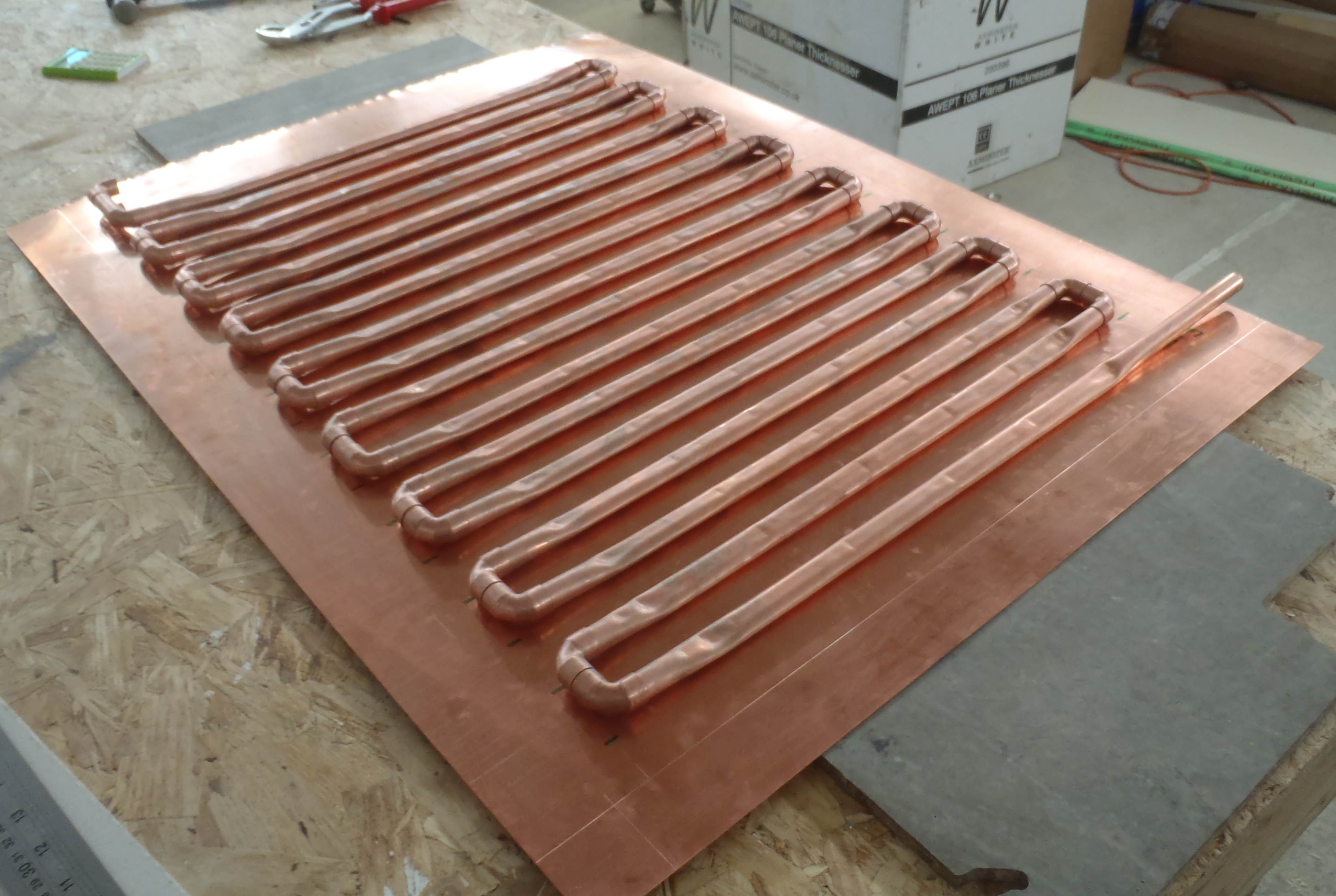 Ceiling Heat Exchanger : Heat exchanger for shower roselea