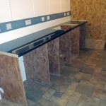 Kitchen Worktop Installed