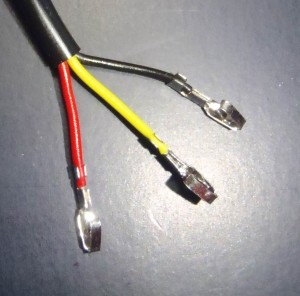 Temerature Probes Assembly - Crimp on contacts