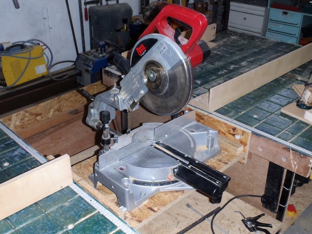 Chop-saw-module