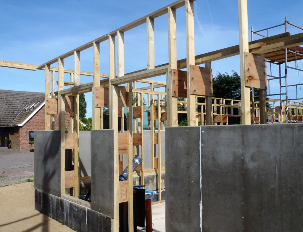 Short-studs-between-lintels-and-top-plates