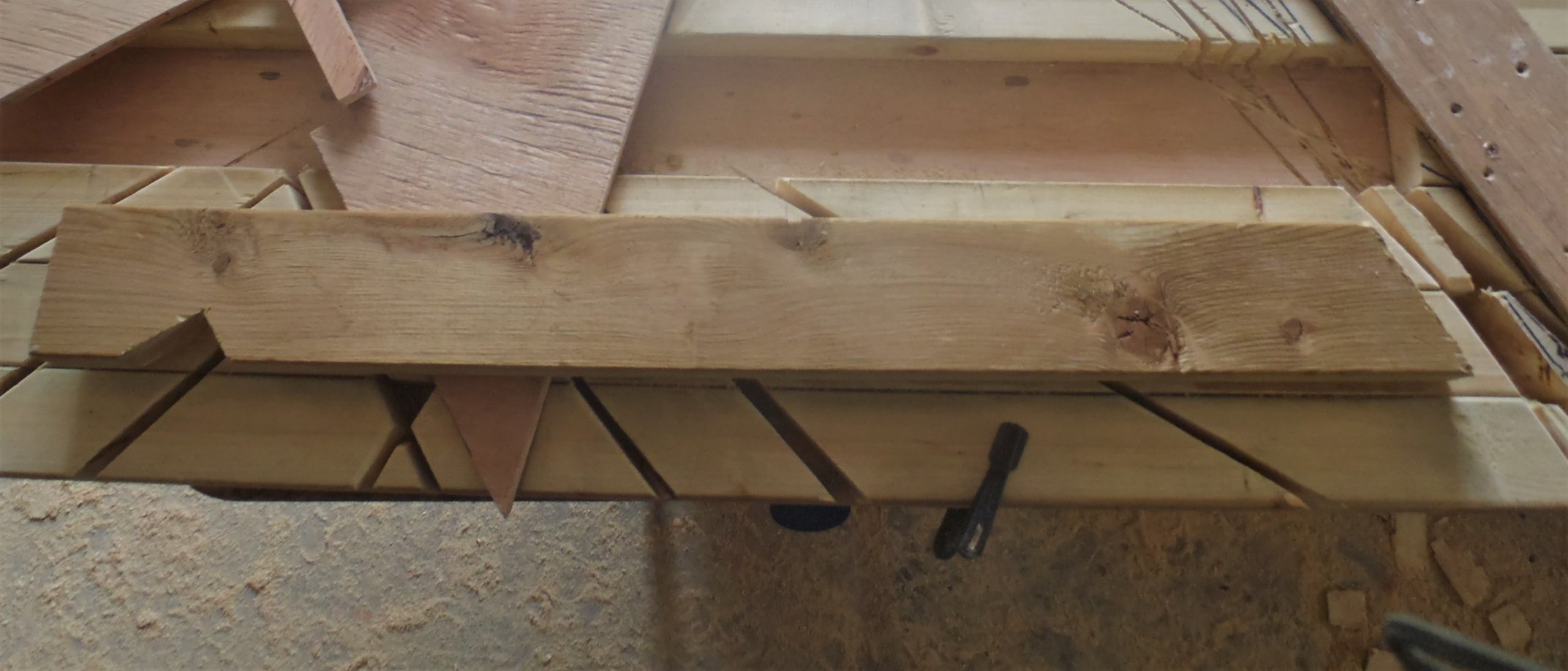 Birds Mouth Jig And Eve S End Of Rafter Template Is