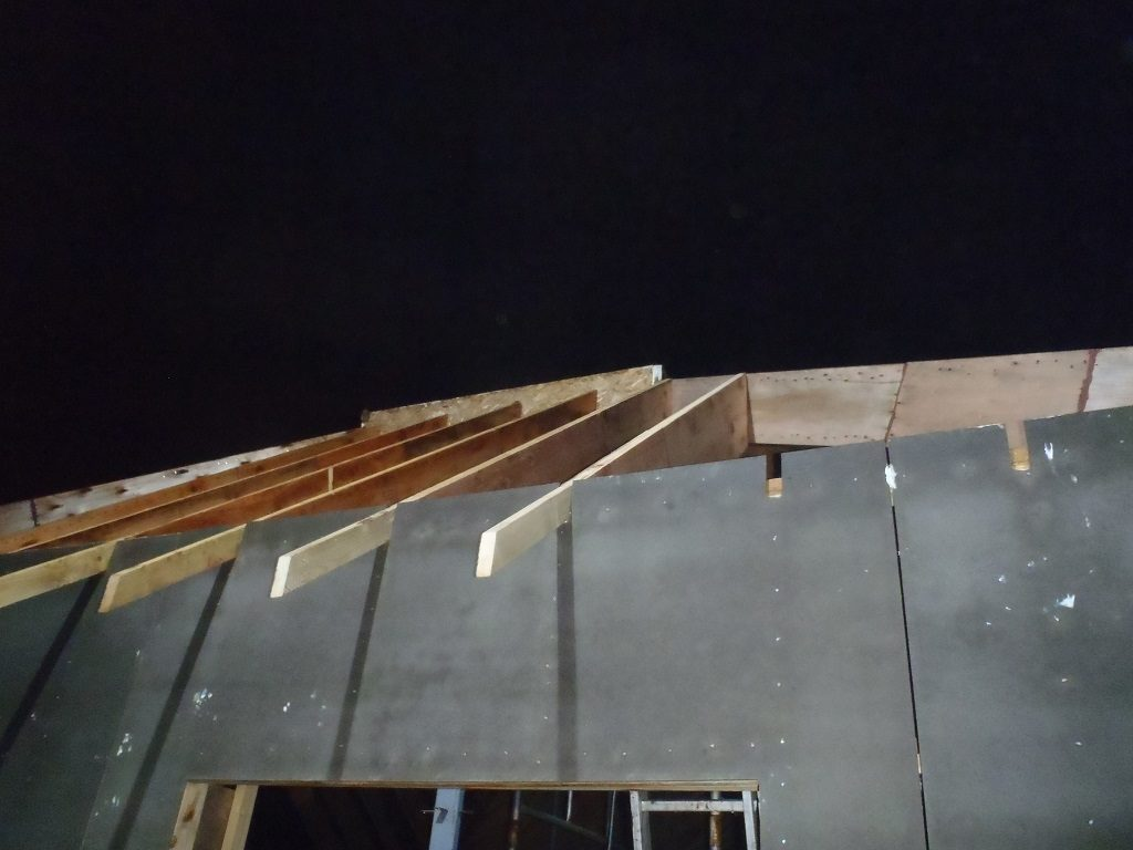 2-H-Rafters-installed-Rafters-