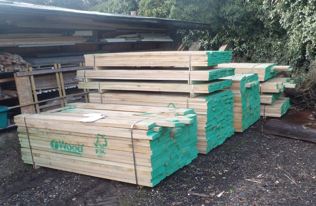 Oak Timber Arrives!