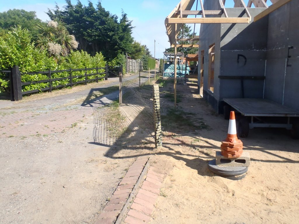 Loke Post and Fencing Repaired