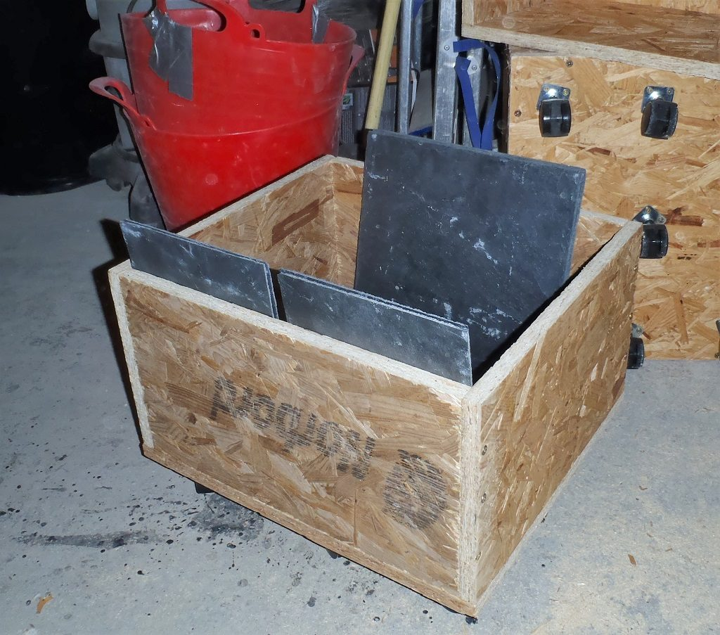 Dolly's Created to help transport our Slates
