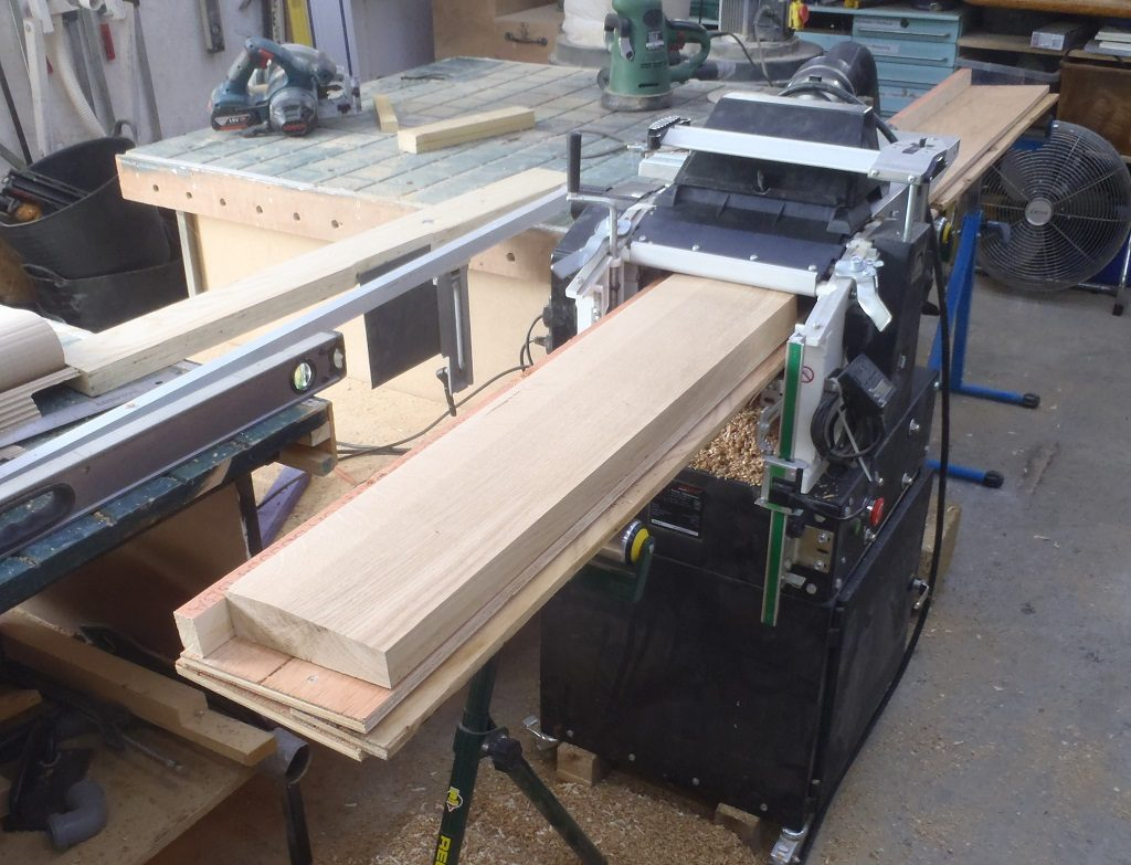 Making Oak Window Frames Started