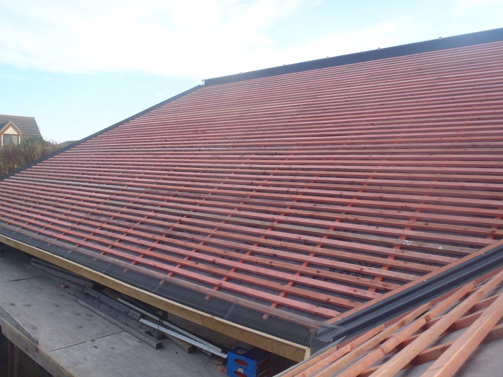 Roof-A-all-battened-up