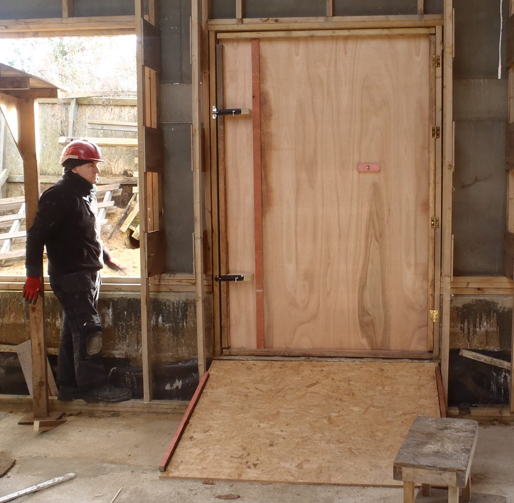 Temporary Doors and ramps for the Three Doors