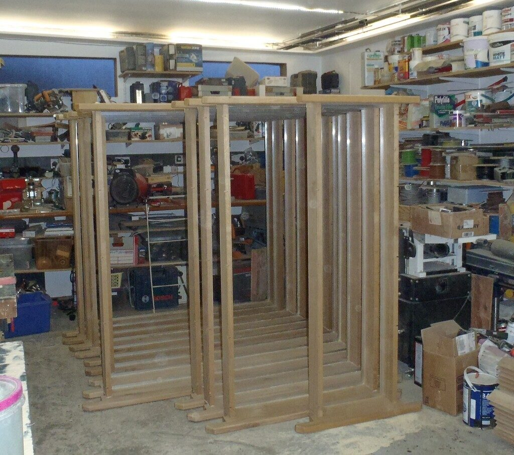 All Window Frames Created and Installed New Better Looking Fencing for Loke
