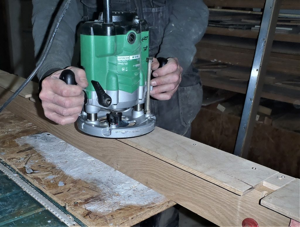 New Version of Larch Cladding Scorcher Machine created, Eves Got Second Coat of Black and Windows are Progressing