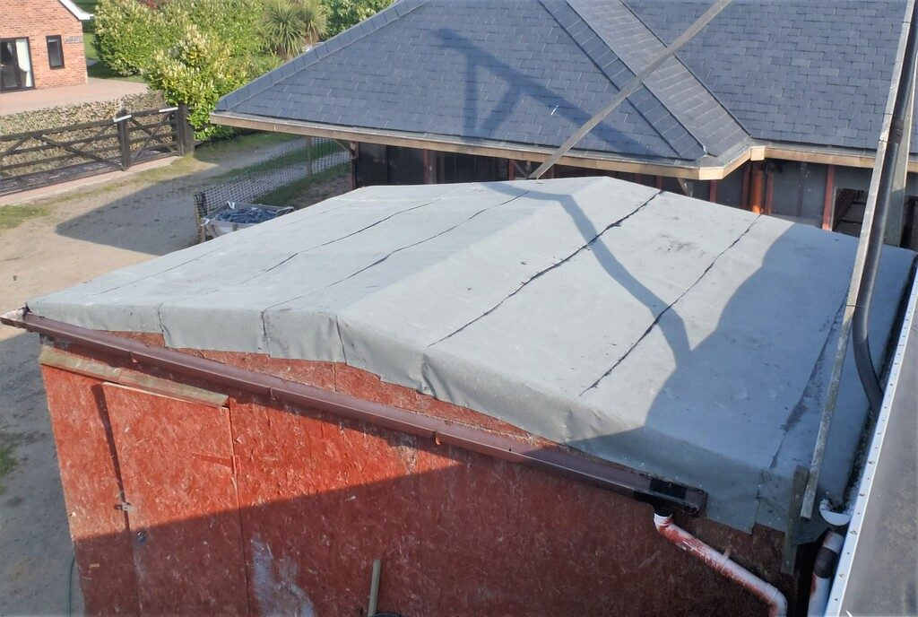 Garden Shed Finally Gets its Roof Repaired!
