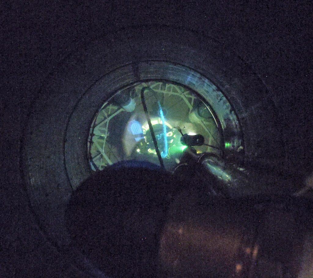 Rain Water Underground Tank Brought Into Operation
