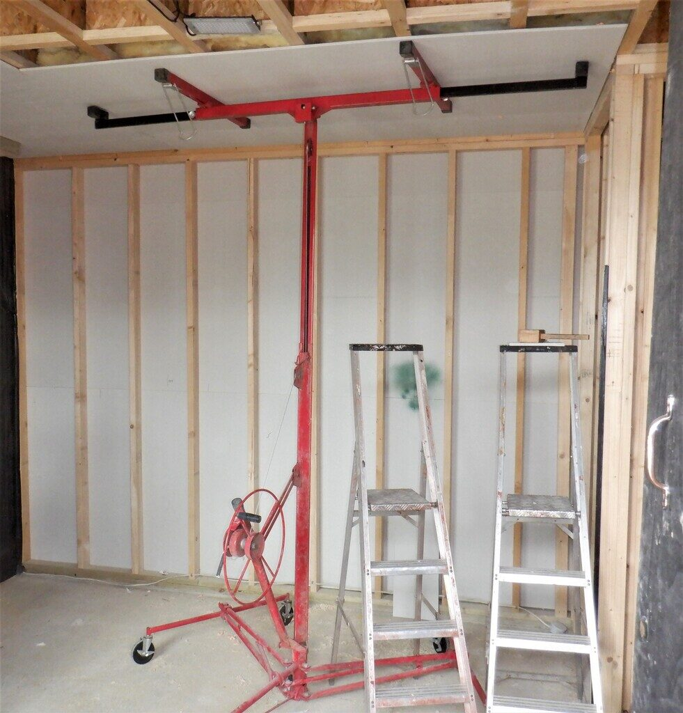 Preparing Utility Room so Ready to Build Equipment Cupboards