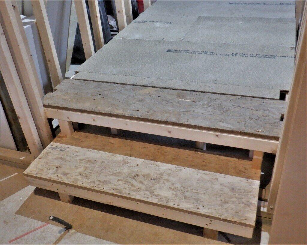 Floorboards Laid for all Hallways
