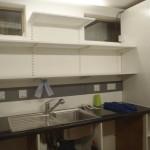 Garden Room (Kitchen) Shelves Up!