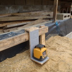 Scraping and Levelling the Footprint of House - Part 1