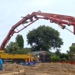 Foundation Concrete Is Poured!