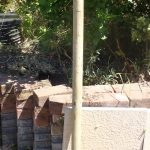 Courier Driver Comes to Apologise and Provides New Wooden Post