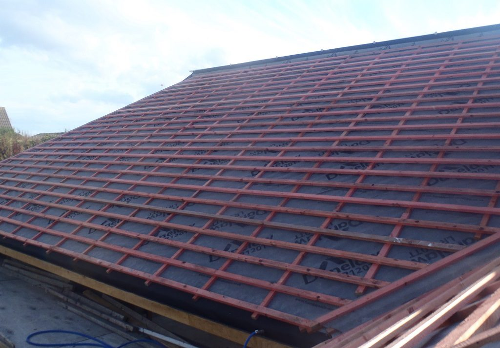 Roof-A-half-battened