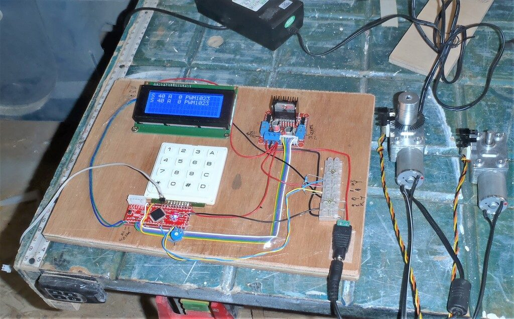 Control-Board-and-Motors-Day-1