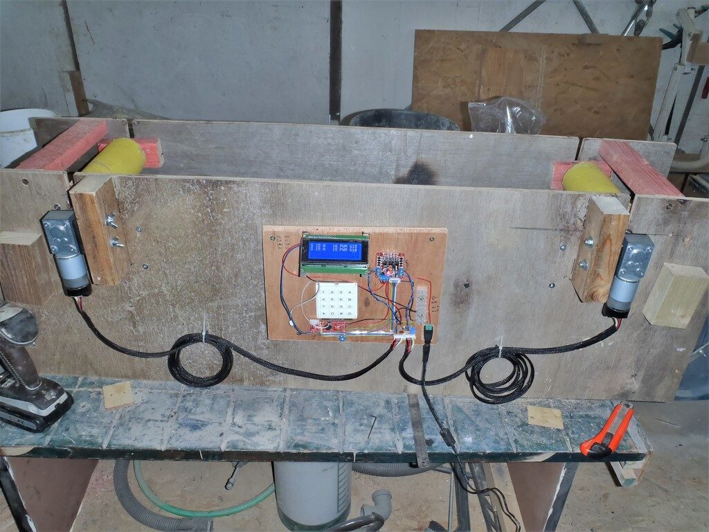 Control-board-and-larger-motors-mounted-to-machine-Day-3