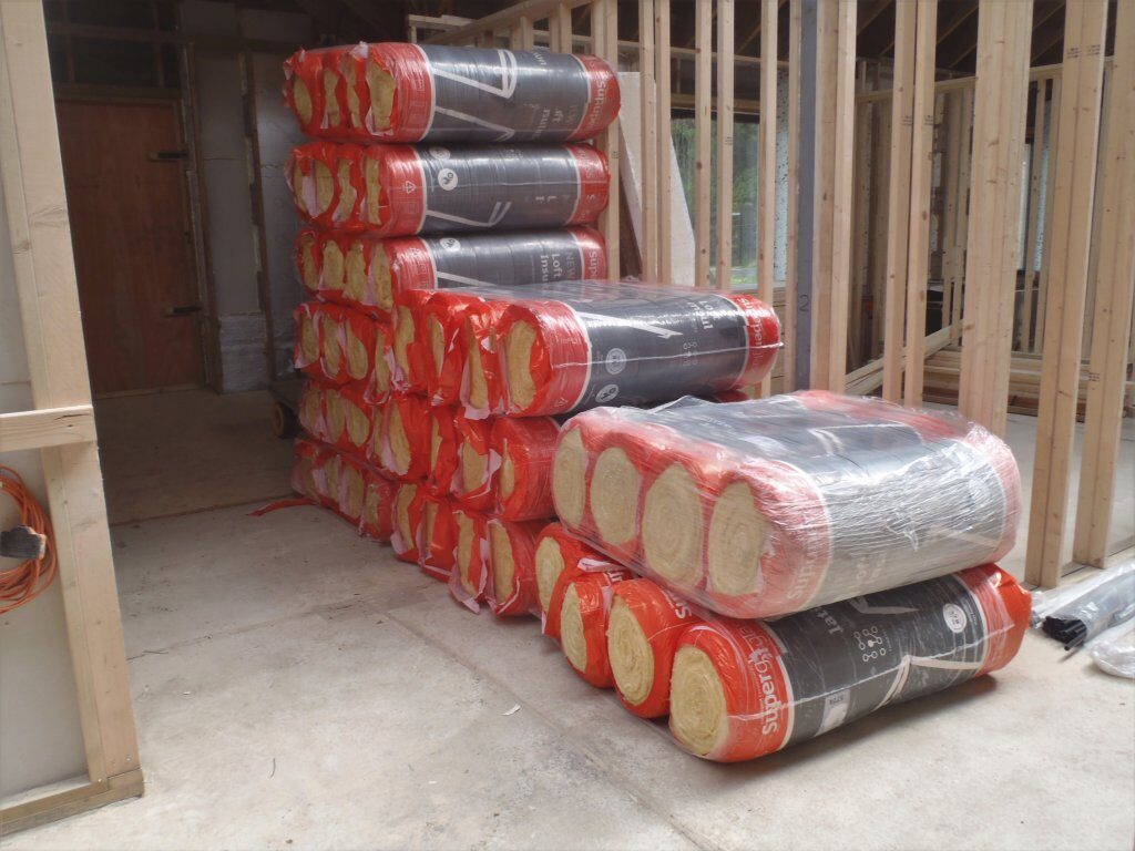 Glass Wool for External Walls Delivered