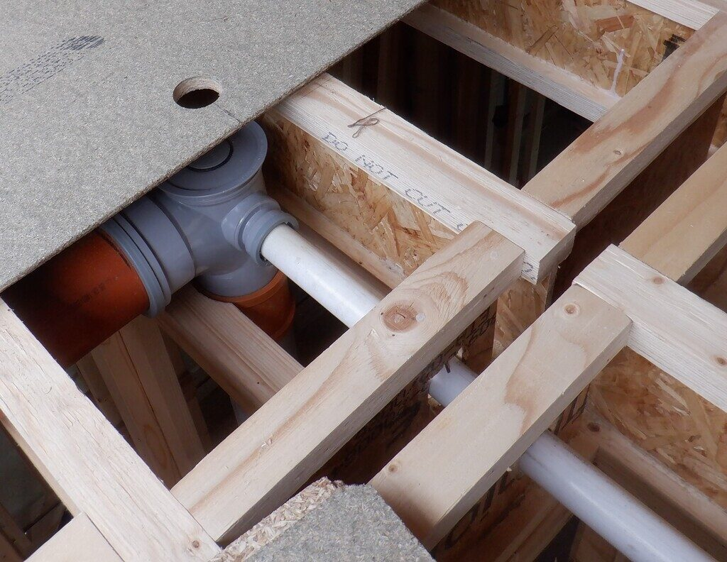 Fiddly Hidden Elements Completed in First Floor Joist Space