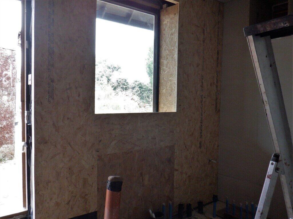 OSB-on-window-wall