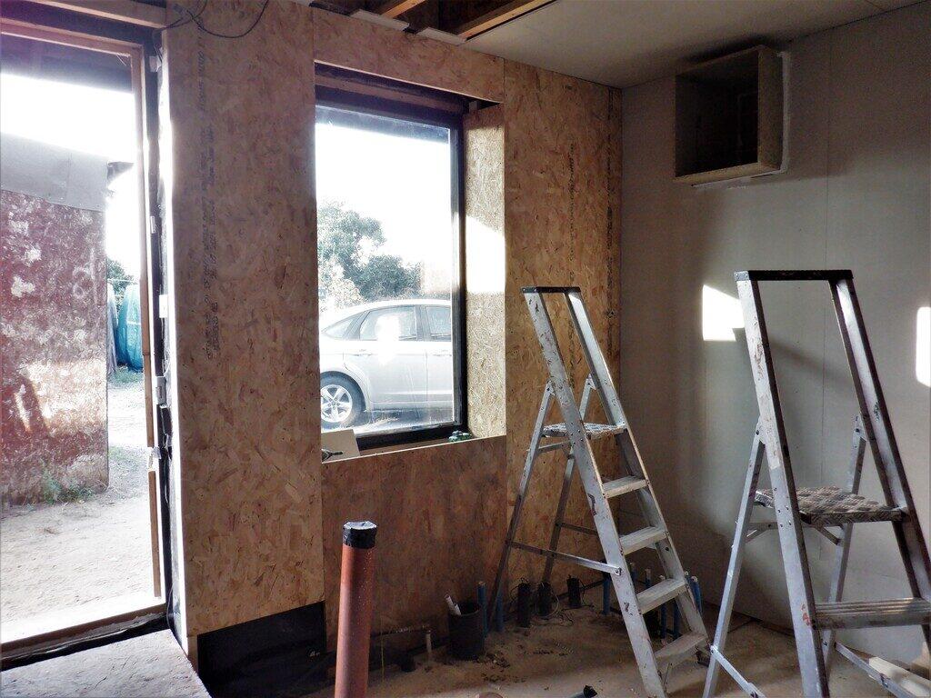 Window-wall-OSB-started